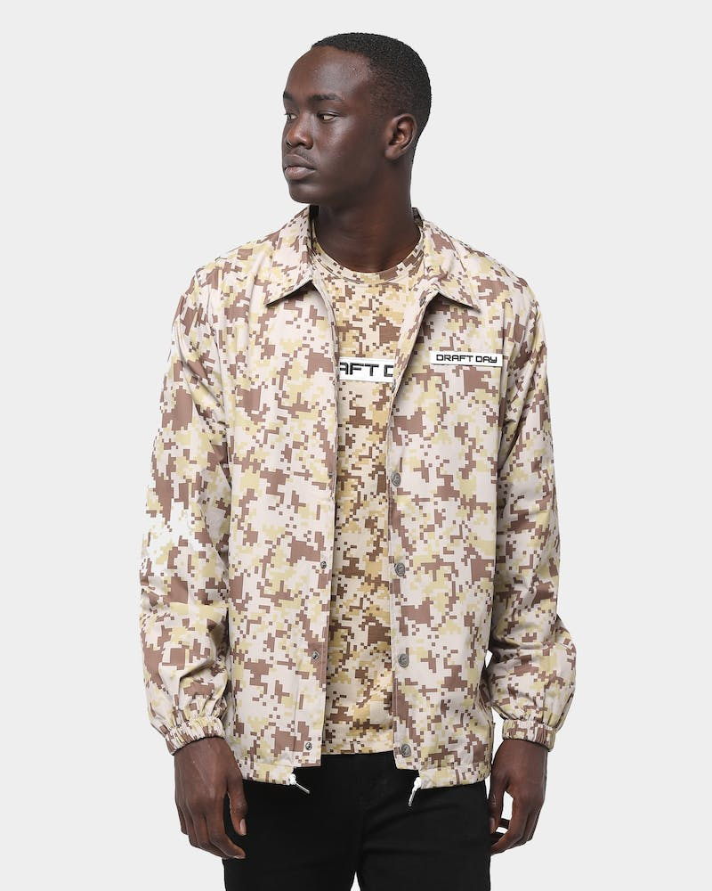 Draft Day Badman Coach Jacket Desert Digi Camo