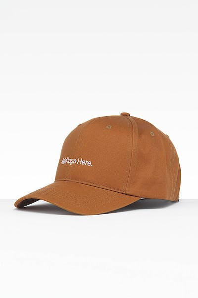 797865d4f6ea0 Goat Crew Add Logo Here Strapback Light Brown