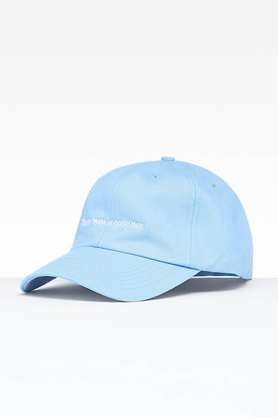 Goat Crew Today Was A Good Day Strapback Light Blue