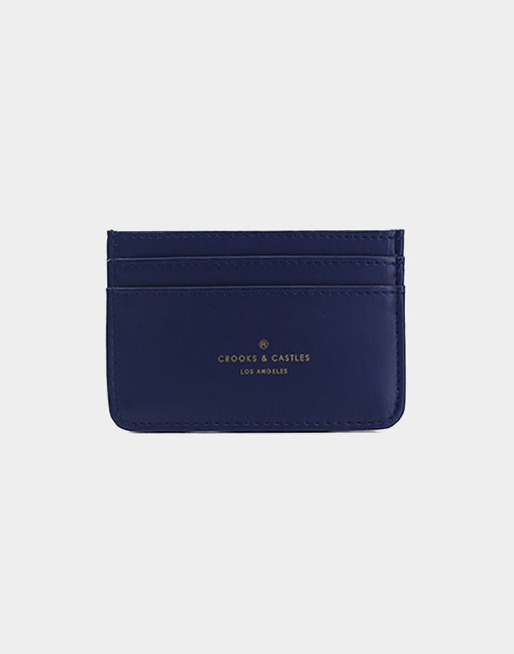 CROOKS & CASTLES BRONSON CARD HOLDER NAVY