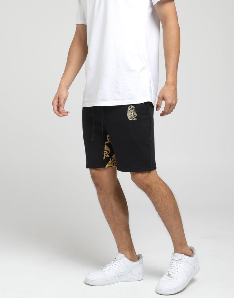 Last Kings Baroque Trackshorts Black