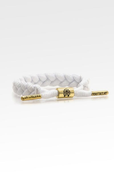 RASTACLAT MEN'S BRAIDED BRACELET ZION II WHITE