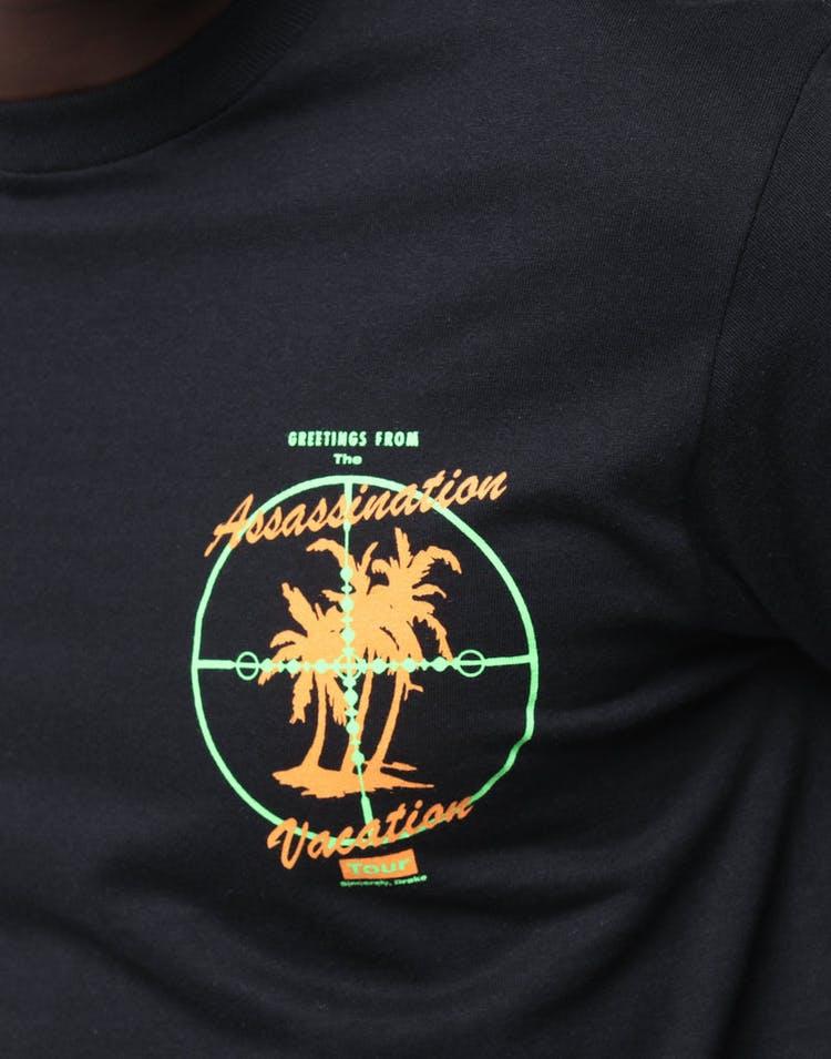 632e04ed Drake Scorpion Merch Assassination Vacation Tee Black – Culture Kings