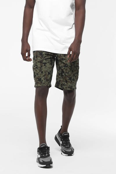 Draft Day Badman Cargo Shorts Digi Camo