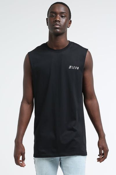 Elevn Aptitude Muscle Tee Black