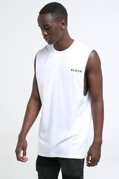 Elevn Case Muscle Tee White