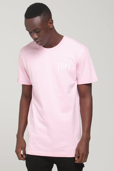 Goat Crew ITS LIT 2 TEE Pink