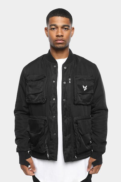 The Anti Order Non-Military Bomber Jacket Black/3M