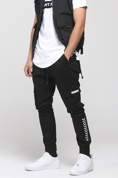 Saint Morta Gladiator Jogger Black/White