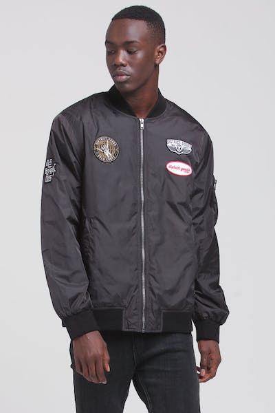 District Goods Scepter Bomber Black