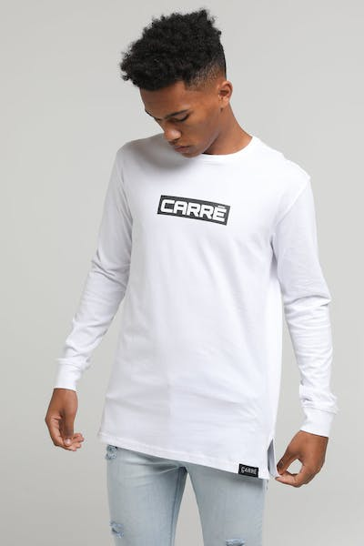 Carré Marked Divise LS Tee White