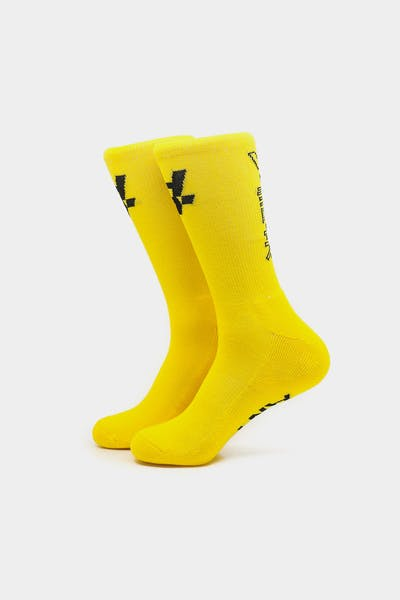 The Anti-Order Elite Guard Sock Yellow