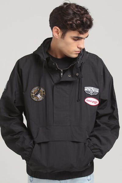 District Goods Scepter Windbreaker Black