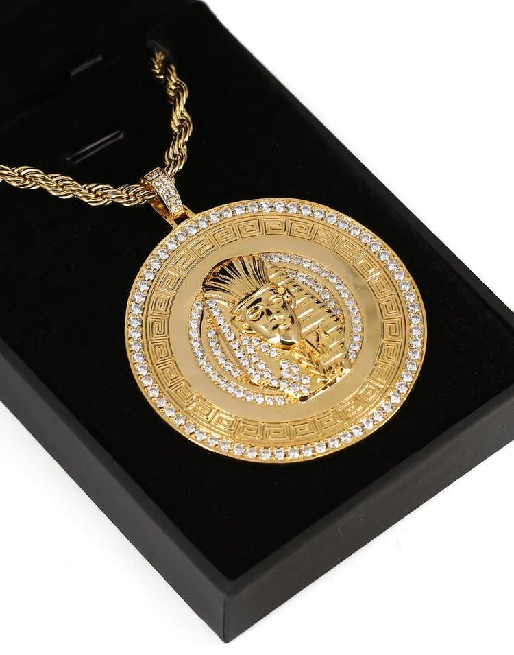 ced609b4 Last King Emblem Pendant & Chain Gold