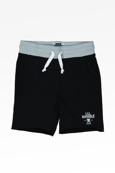 LIL HOMMÉ PERIL SHORT BLACK/GREY