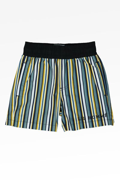 LIL HOMMÉ SUCRE SHORT GREEN/BLUE/YELLOW