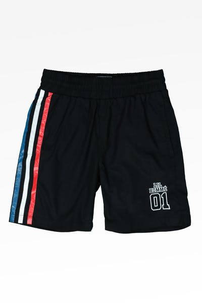 Lil Hommé Channel Shorts Black