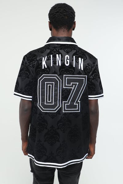 Last Kings Luxe State Button Up Black