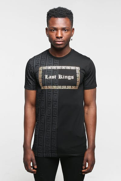 Last Kings Split Regal Tee Black