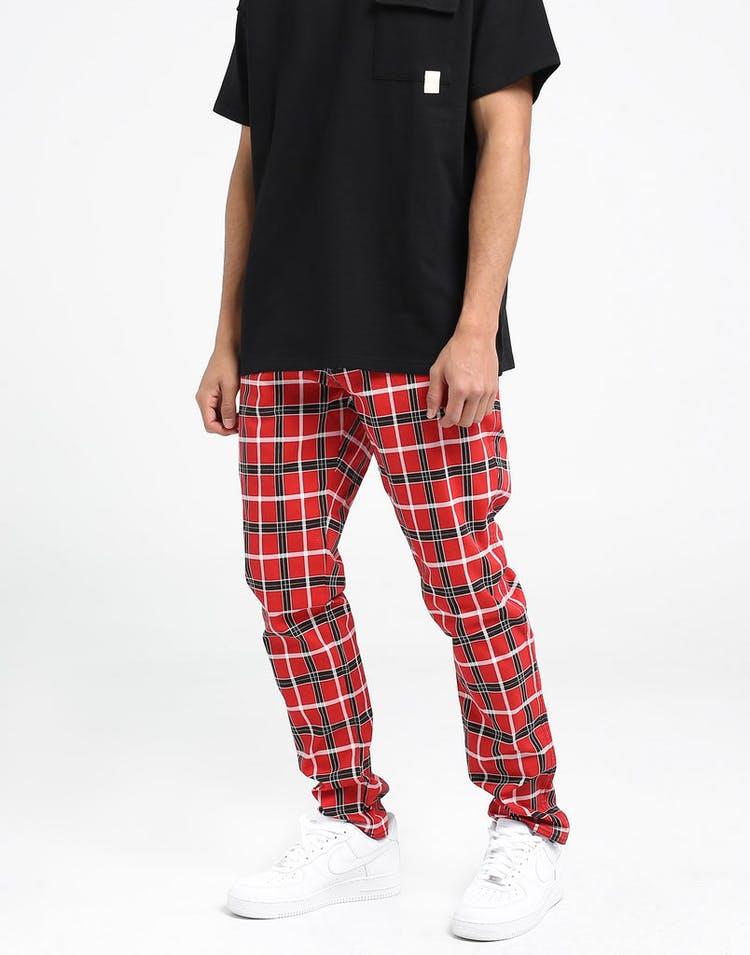 4991e814 New Slaves Tartan Pant Red/Black/White