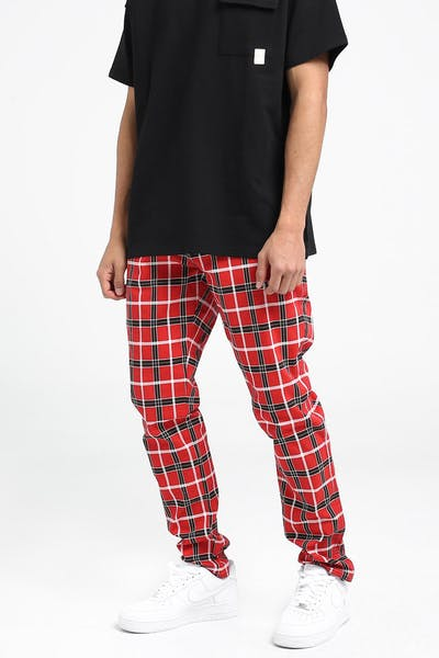 New Slaves Tartan Pant Red/Black/White
