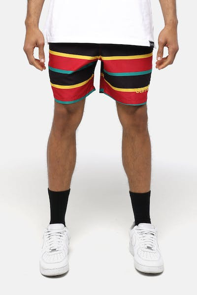 Carré Quatre Essentiel Short Black/Red