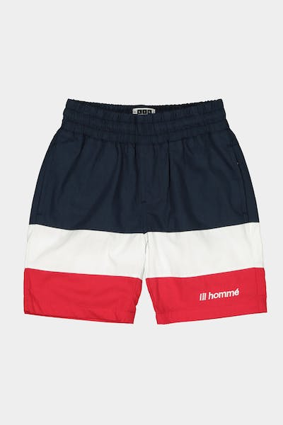 Lil Hommé Lafayette Essentiel Short Navy/White/Red