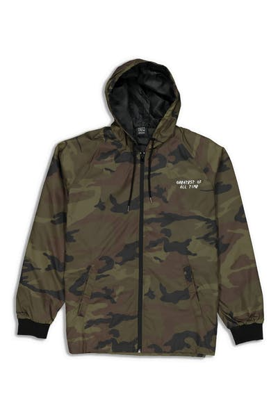 9011c6cbf1e2f Goat Crew Greatest Windbreaker Jacket Camo
