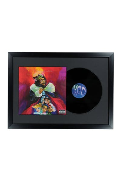 Music Merch J.Cole K.O.D Framed Vinyl