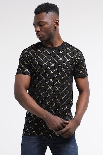Last Kings Cairo Tee Black/Gold