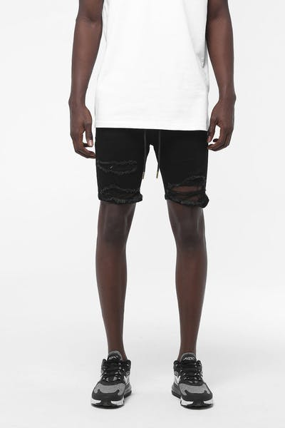 Last Kings Platinum Shorts Black