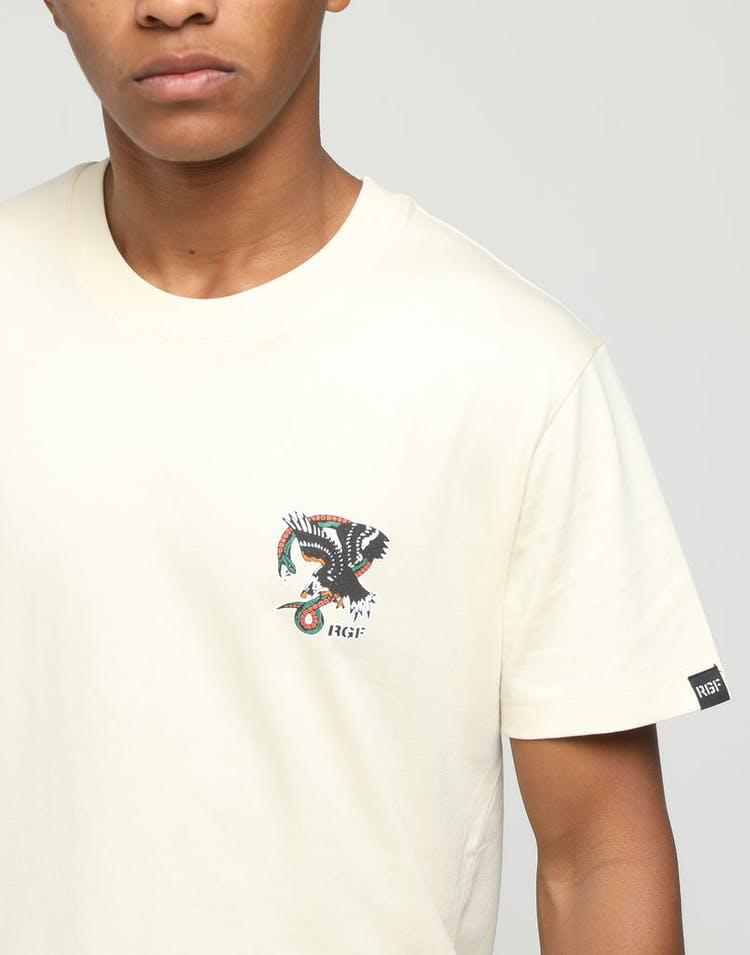 Rats Get Fat Attack SS Tee Cream