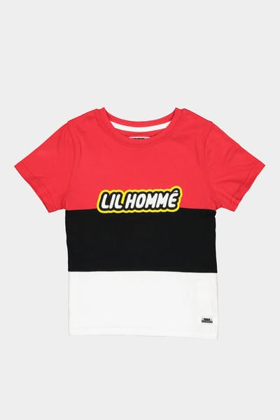 Lil Hommé Connect Tee Red/Black/White