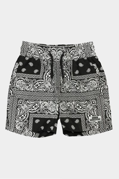 Lil Hommé Bandit Beach Short Black