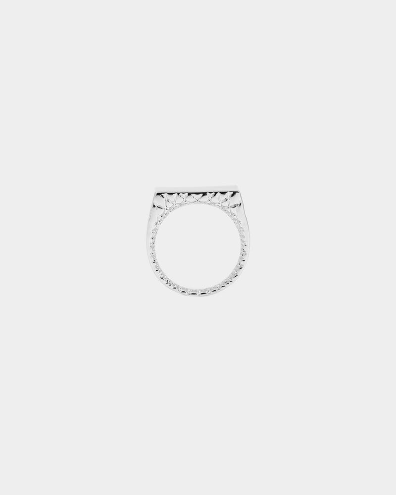 SAINT MORTA WORLD RING WHITE GOLD