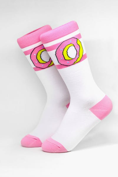 Odd Future Donut Logo Sock White