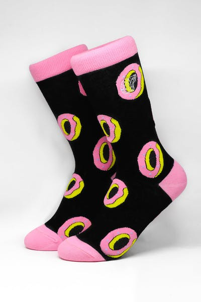 Odd Future All Over Donut Sock Black