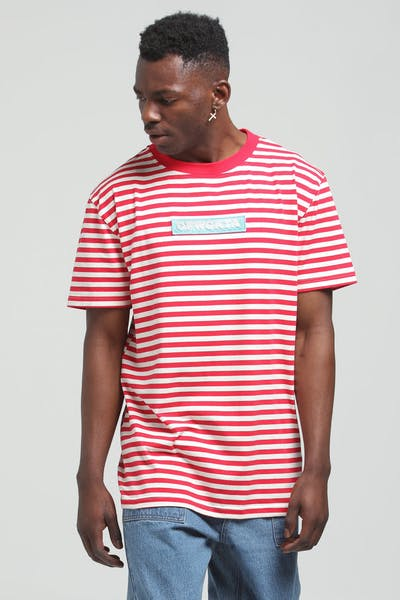 Odd Future OFWGKTA Stripe Tee Red/White