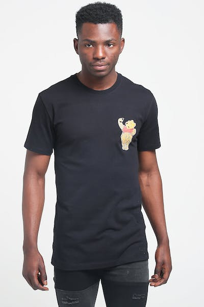 Goat Crew Blunted Bear SS Tee Black