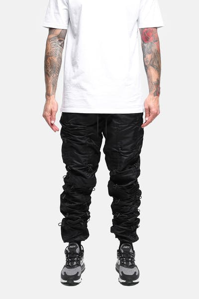 ELEVN CLOTHING CO. ELEVATE BUNGEE PANT BLACK