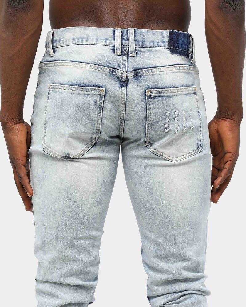 ENES Men's Recruit Jean Washed Blue