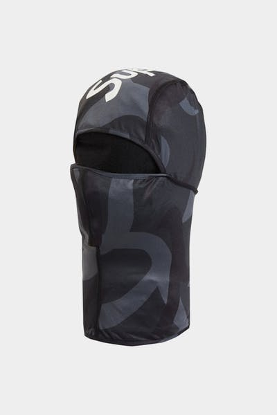 Supreme Men's Tribal Camo Balaclava Black