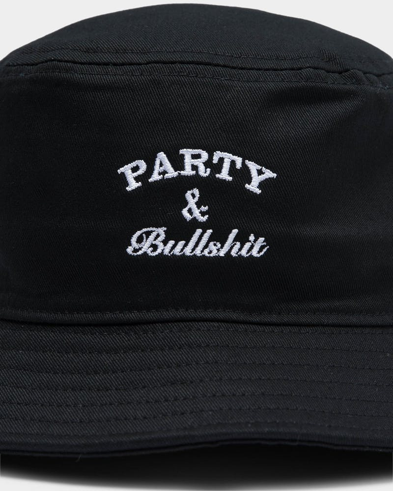 Goat Crew Party & Bullshit Bucket Black