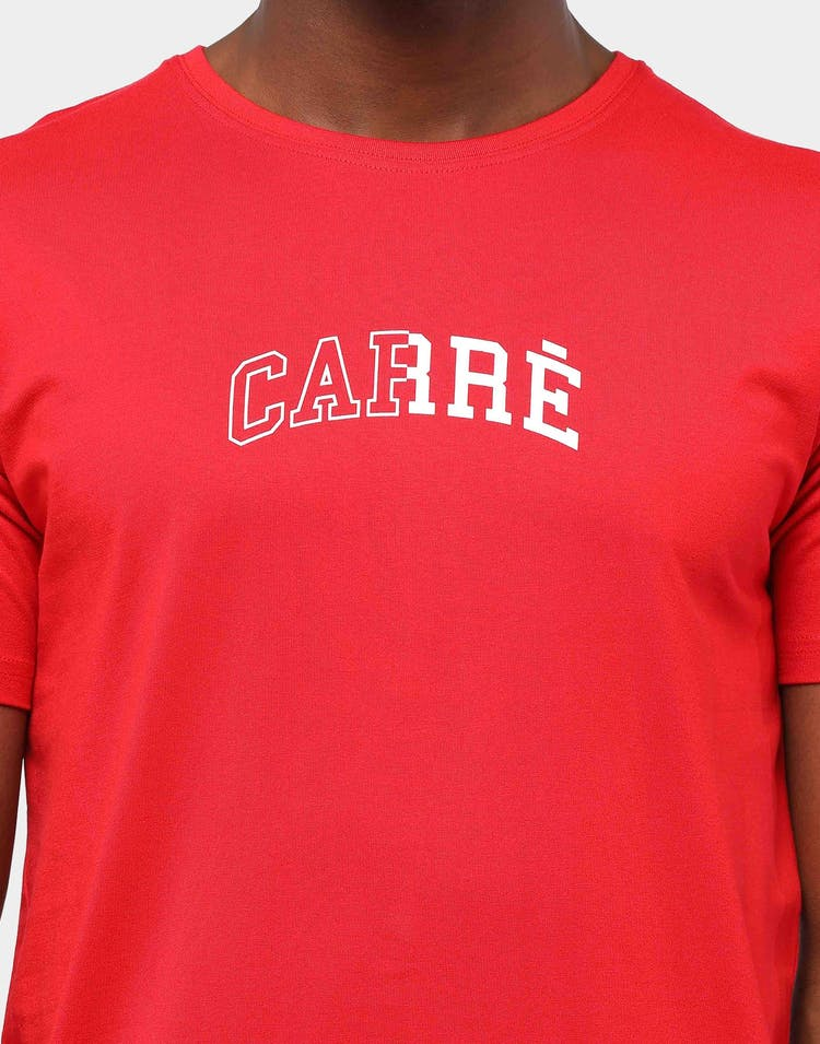 Carré Men's Micro Enorme Divise T-Shirt Red