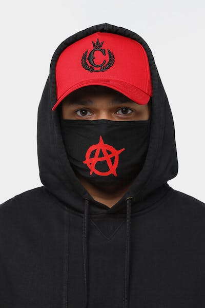 Goat Crew Men's Anarchy Face Mask Black
