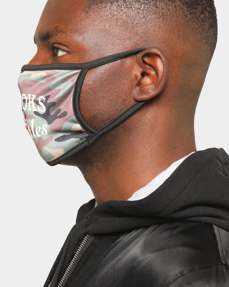 Crooks & Castles Men's Camo Fashion Face Mask Camo