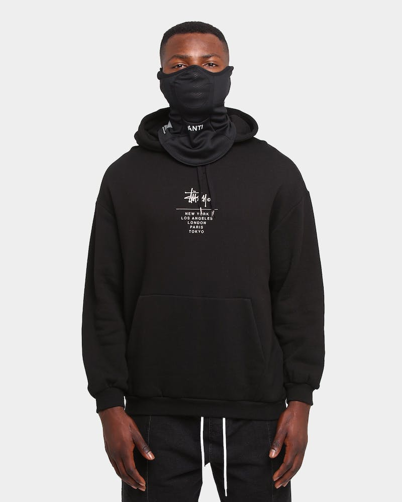 The Anti Order Anti Riot Face Cloak Black