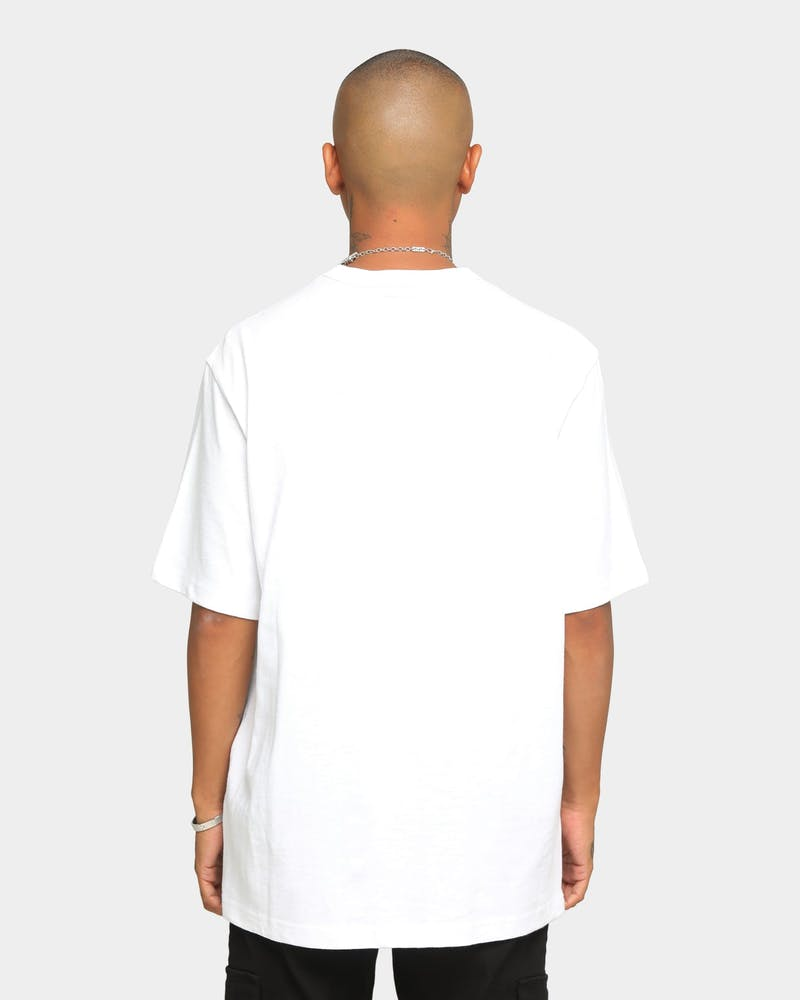 Supreme Collage Logo Short Sleeve T-Shirt White