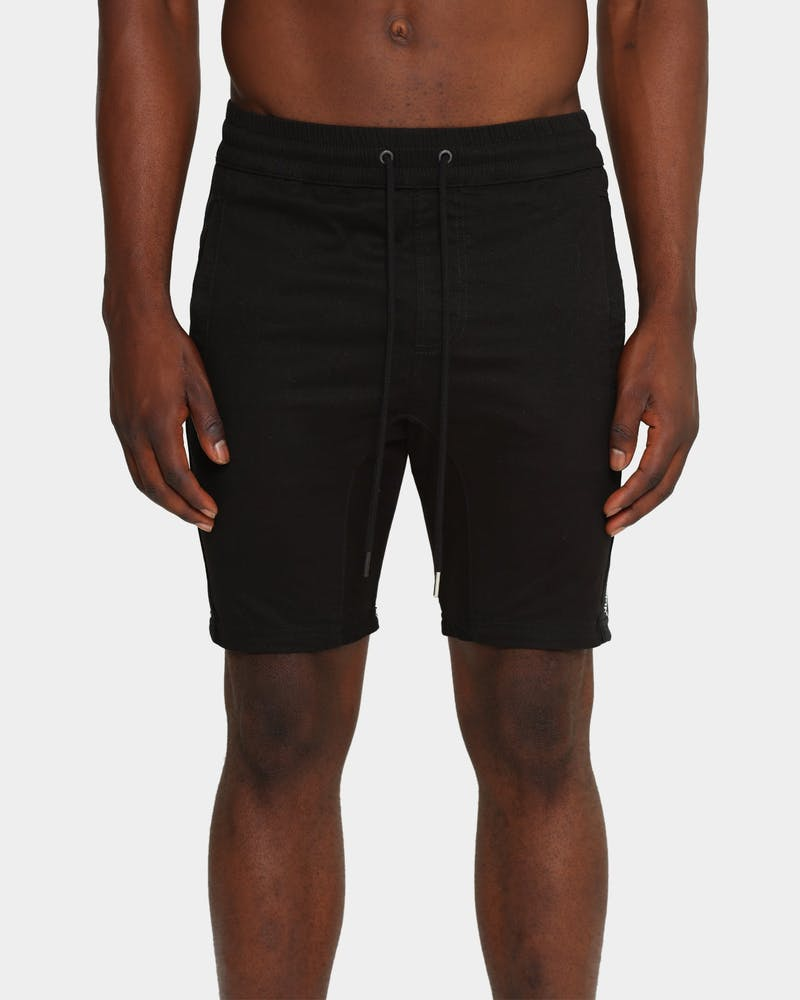 Saint Morta Canal X Walk Shorts Black
