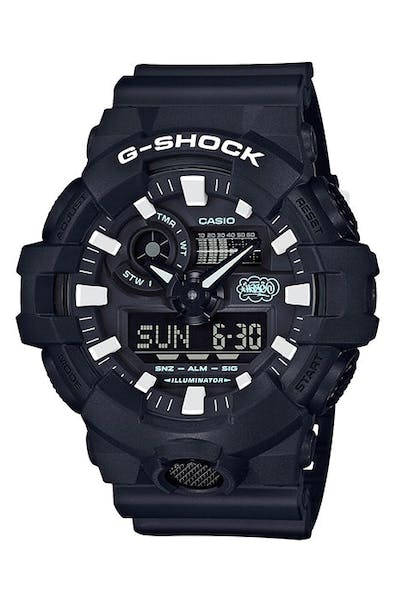 Eric Haze X G-Shock 35th Anniversary Collaboration Black/White